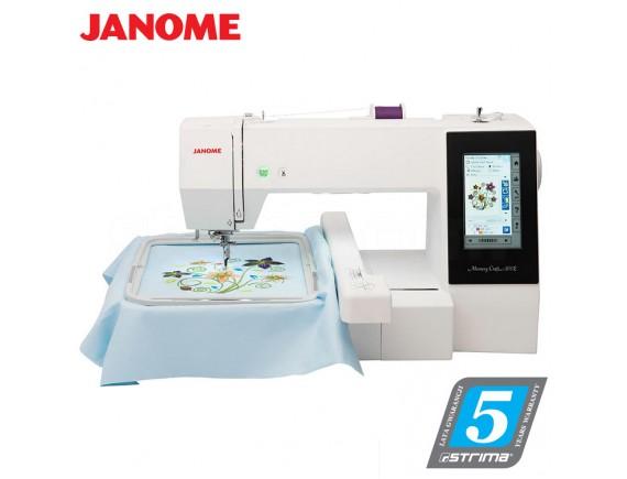 Masina de cusut si brodat Janome Memory Craft 500E