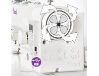 Masina electronica de cusut liniar Texi Tronic 6